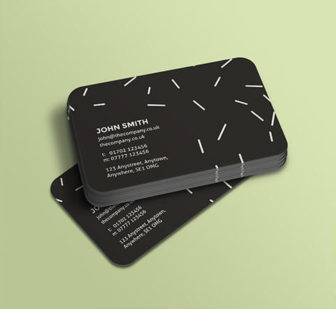 Rounded corner business cards zero due design rounded corner business cards reheart Choice Image